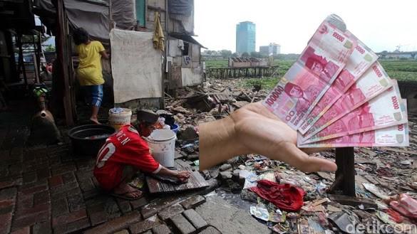 Kata BPS: Pengeluaran Rp 400 Ribu/Bulan Bukan Orang Miskin