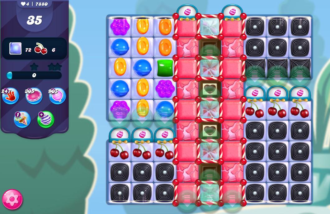 Candy Crush Saga level 7880