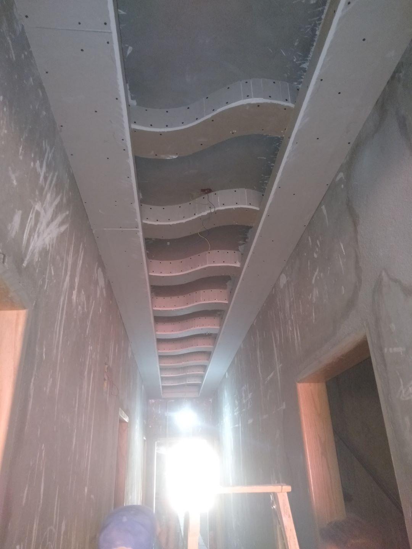 ديكورات جبس اسقف للممرات والمداخل جميلة جدا