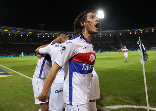 Sebastián Prediger en la final ante Boca