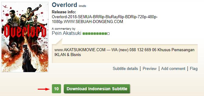 Nonton Cara menambahkan subtitle agar Muncul Subtitle Indonesia