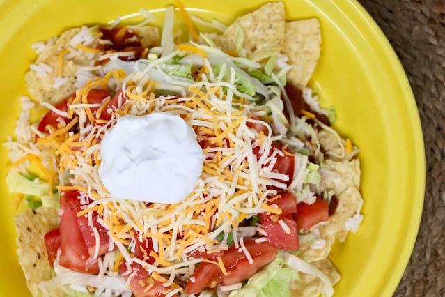 Open Face Tacos