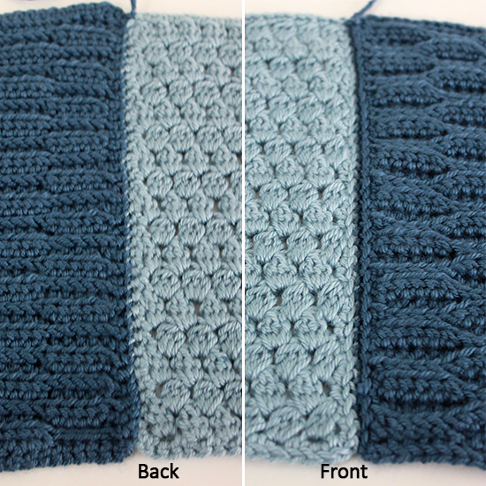 Crochet Join Stitch : Join crochet squares with a back-loop-only whip stitch Crochet Along ...