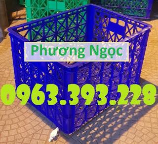 Sọt nhựa rỗng có bánh xe, sọt nhựa kéo hàng, sọt nhựa công nghiệp 3327cdc13e12c74c9e03