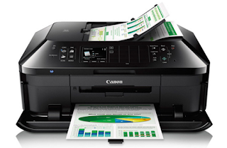 Canon Pixma MX922 Review- Printer Canon Pixma MX922 is the brother of MX522 near Wireless Office all-in-One, but the quality of the device has a better photo prints,