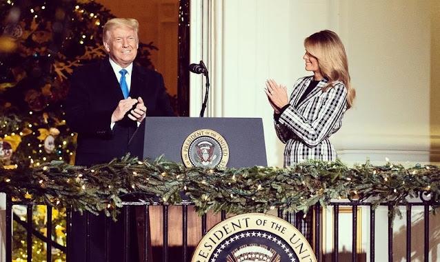 'Graças a Deus, que enviou Seu Filho para morrer por nós', diz Trump em mensagem de Natal