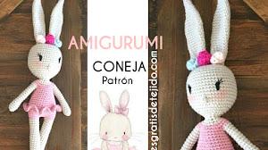 Amigurumi Conejita Bailarina 🐰 | Patrones