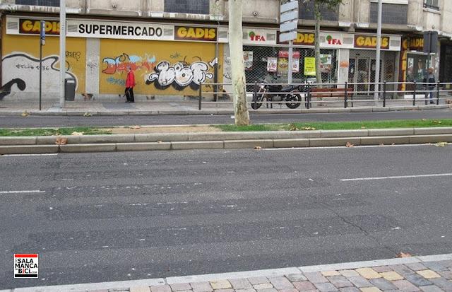 salamanca en bici paso de peatones