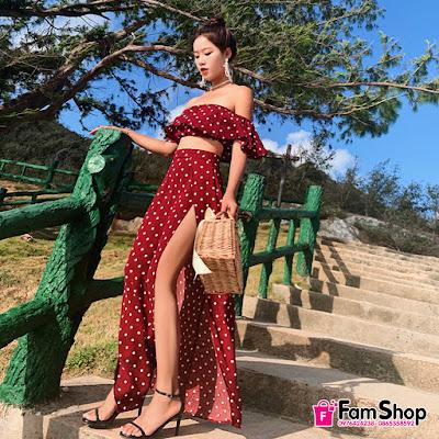 shop ban vay maxi gia re tai Thuy Khue