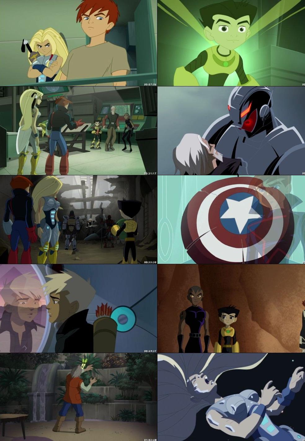 Next Avengers Heroes Of Tomorrow 2008 300MB BluRay Hindi Dubbed