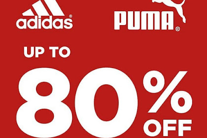 Promo Golden Truly Adidas Dan Puma Diskon 80% Hingga 31 Agustus 2019