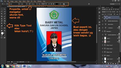 Cara Membuat ID Card di Photoshop CS6