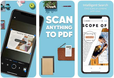 Aplikasi Scanner iPhone Gratis - Adobe Scan