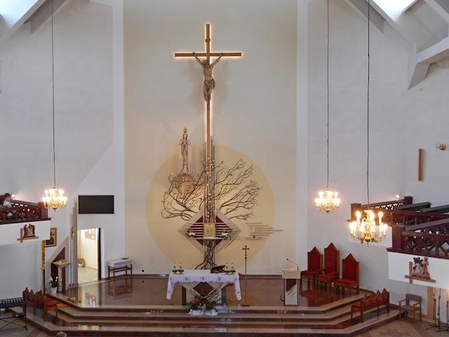 kościół w Gubinie, wystrój wnętrza, warto zobaczyć