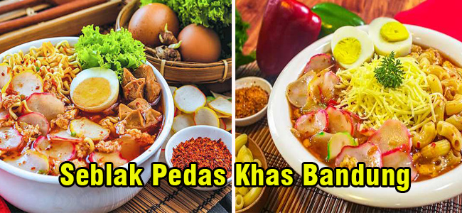 Resep seblak Pedas Khas Bandung