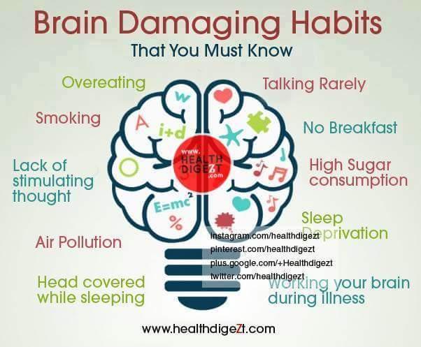 Tabiat Yang Merosakkan Otak!