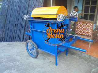 mesin perontok kacang tanah
