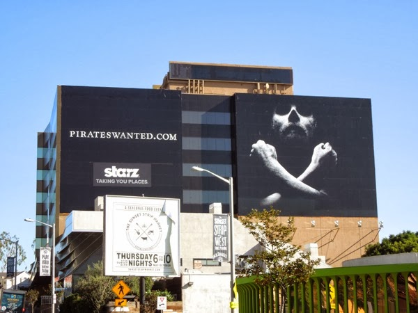 Black Sails Starz teaser billboard