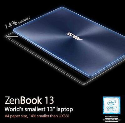 Laptop Premium paling ringkas di dunia