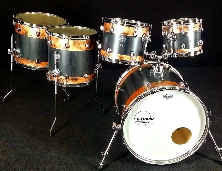 el kit G-Drums de Anye Bao