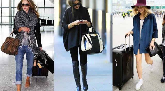 Travel Fashion from Marilyn Monroe to Gigi Hadid