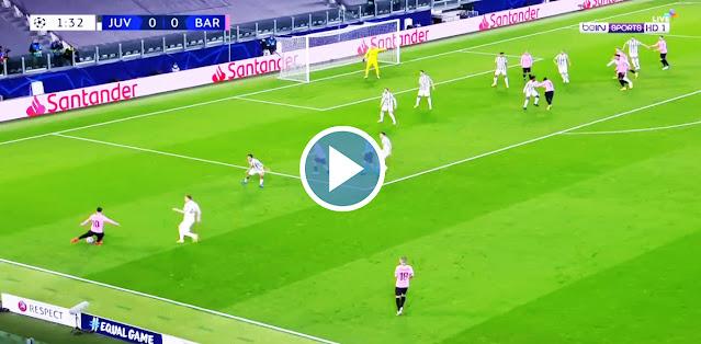 Juventus vs Barcelona Live Score