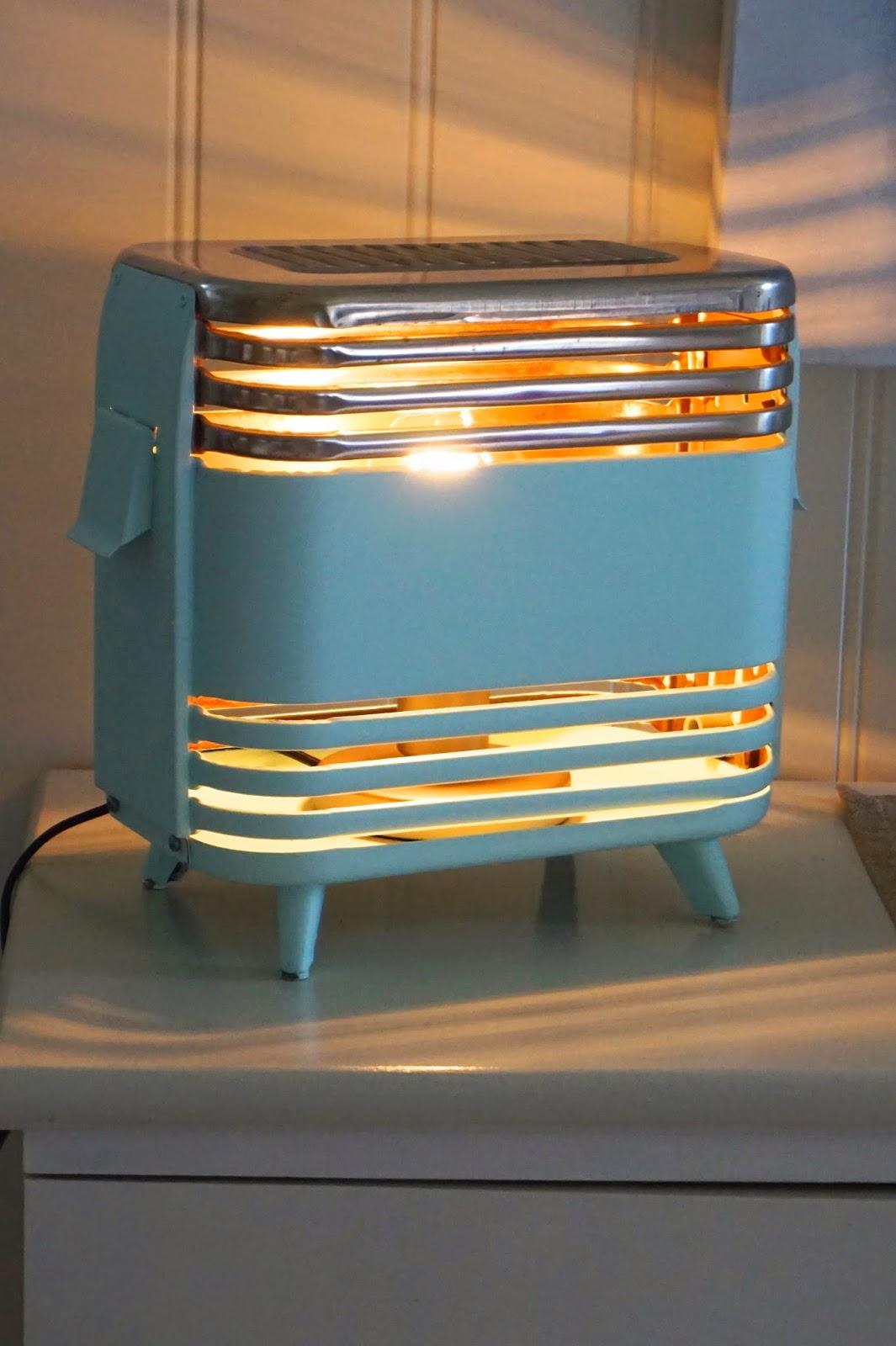Hobbyvimsa: diy en gammel elektriskovn blir lampe.
