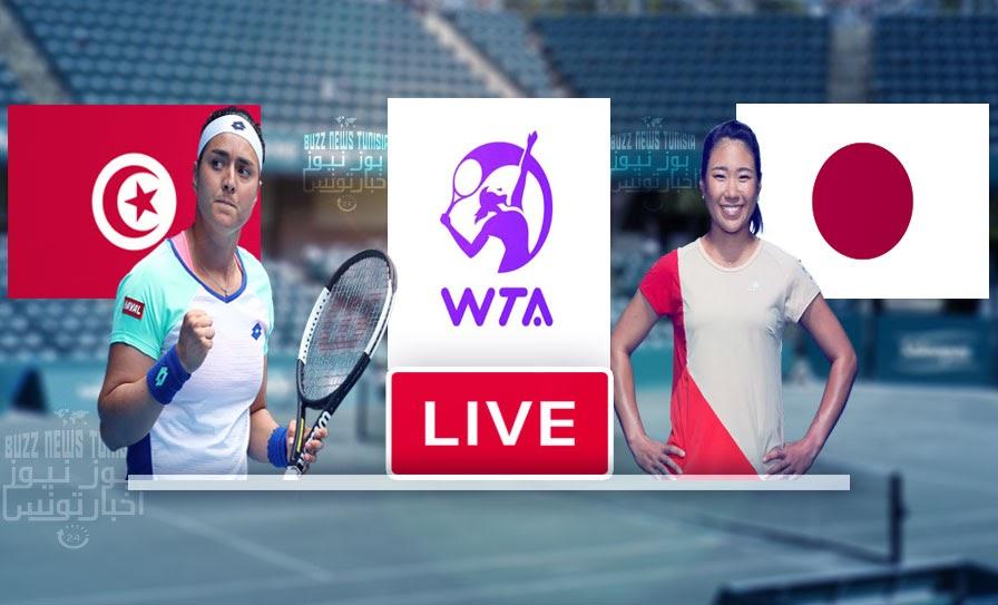 Watch Match Tennis Ons Jabeur vs  Nao Hibino Live Stream WTA Tournament Charleston