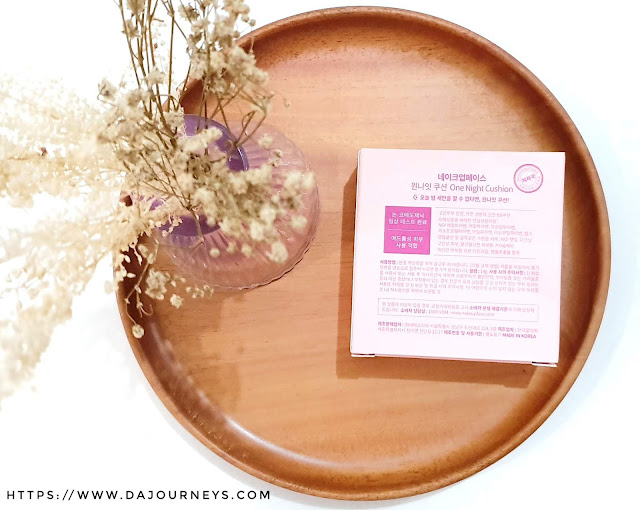 Review Nakeup Face One Night Cushion