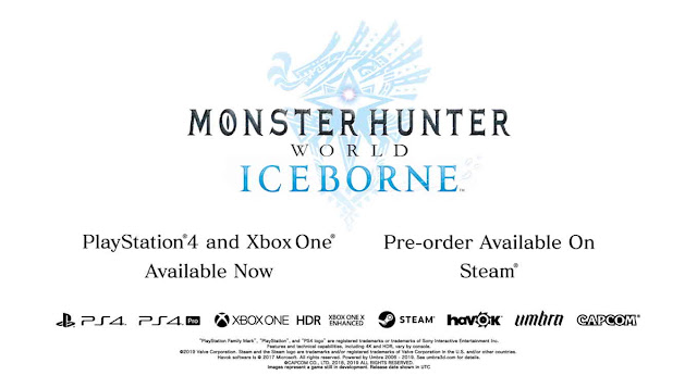 Game Monster Hunter World: Iceborne Dirilis 9 Januari Untuk PC