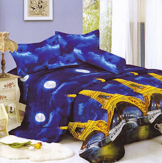Sprei Kintakun Luxury Eiffle Tower