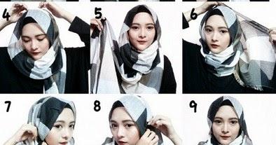 Tampil Kekinian Ke Kampus Dengan Tutorial Hijab Praktis Modern Untuk Kuliah Saat Ramadan