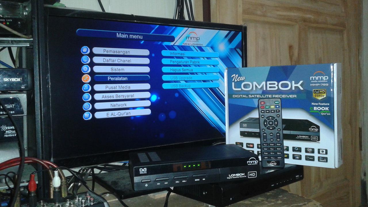 Harga Dan Spesifikasi Receiver MMP Lombok New Terbaru