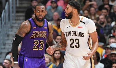 Anthony Davis - LeBron James