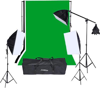 Комплект освещения для фотостудии