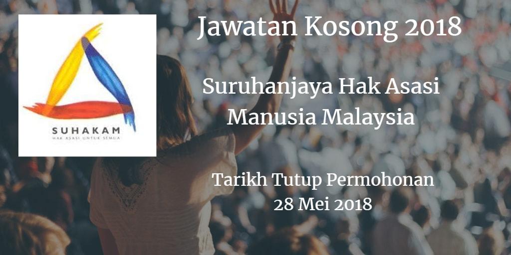 Jawatan Kosong SUHAKAM 28 Mei 2018