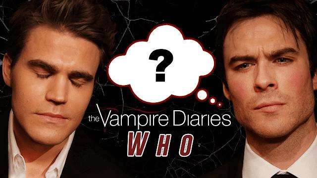 Vampire Diaries - Who Said it in The Vampire Diaries