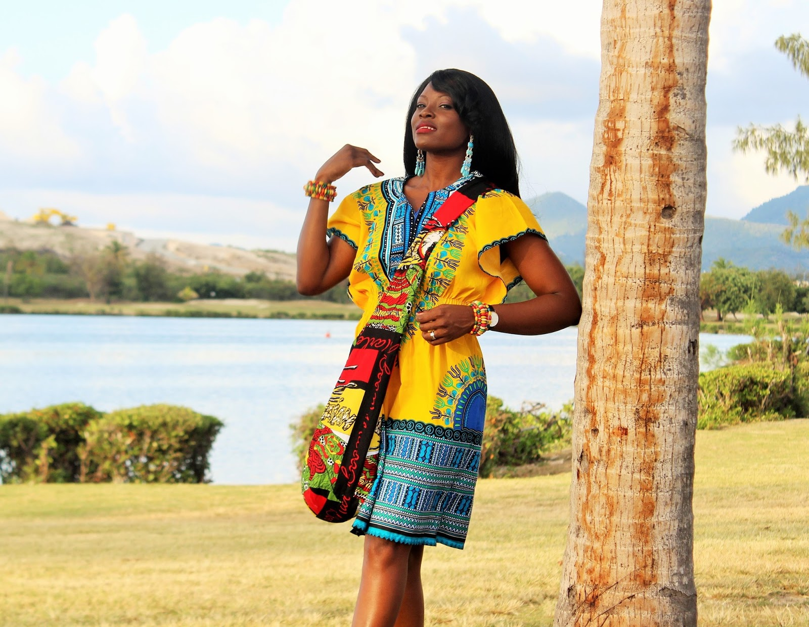 CULTURE IS FASHION | PRINT AND PATTERN MIX: INSPRED BY A DASHIKI DRESS
