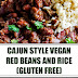 Cajun Style Vegan Red Beans and Rice (Gluten Free)