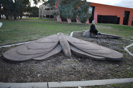 BIG Moth by Matthew Harding in Acton I Canberra BIG Things