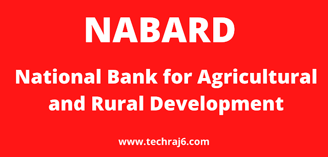 NABARD full form, What is the full form of NABARD