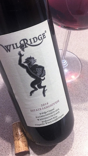2016 Wilridge Winery Estate Sangiovese