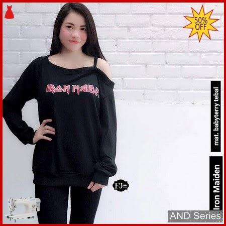 AND374 Baju Atasan Wanita Tank Top Iron BMGShop