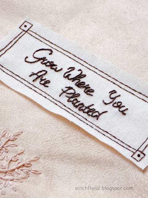 Embroidery quote