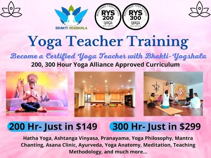 Alliance Certified Online Yoga Teacher Training - Just in $149