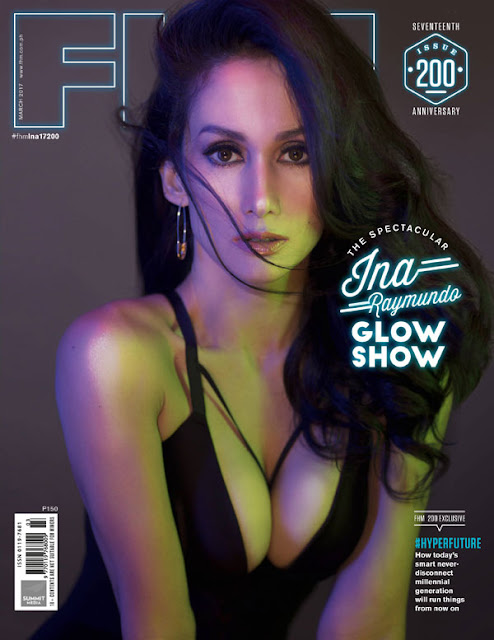 Ina Raymundo FHM March 2017 issue