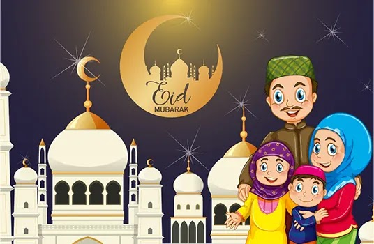 Eid ul Fitr Greetings 2021 for Husband