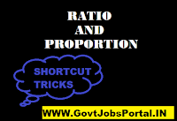 RATIO AND PROPORTION SHORTCUT TRICKS
