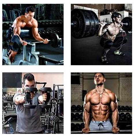 Workout routine for men to gain muscle, strength and endurance
