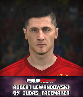 PES 2017 Faces Robert Lewandowski by Judas